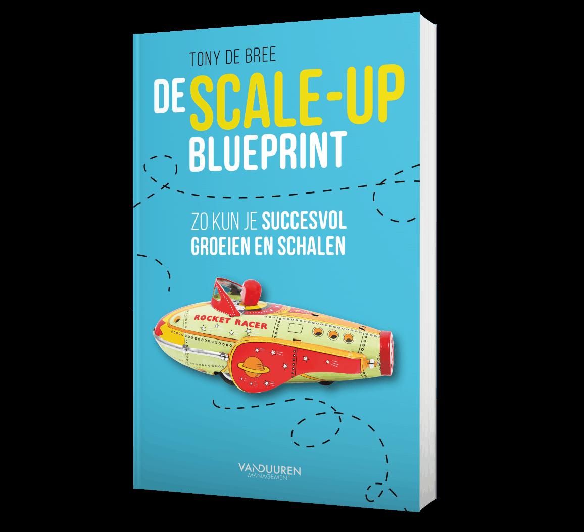 Cover 'Scale-up Blueprint' - Tony de Bree interviewt Johan Schaeffer